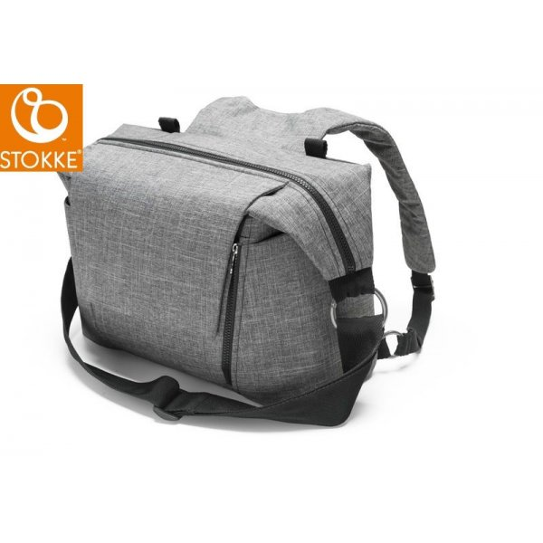 Stokke Changing Bag Black Melange