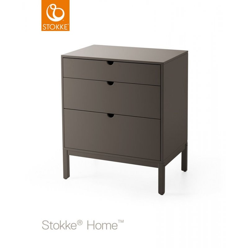 Stokke Home Dresser συρταριέρα αλλαξιέρα Hazy Grey