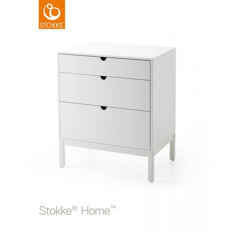 Stokke Home Dresser συρταριέρα αλλαξιέρα white