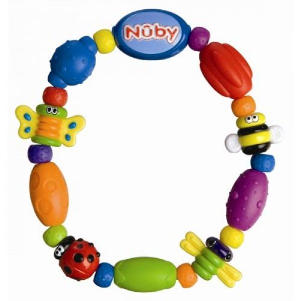 Nuby 1P hard/soft teether Bug-a-Loop