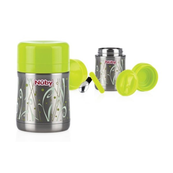 Nuby Θερμός stainless  450ml