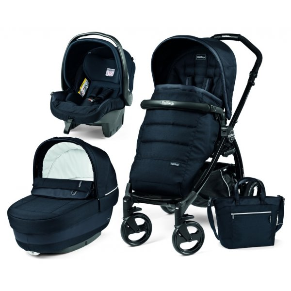Peg Perego Παιδικό καρότσι Book Plus 51 Set Elite Modular Luxe Bluenight  και δώρο kit culla