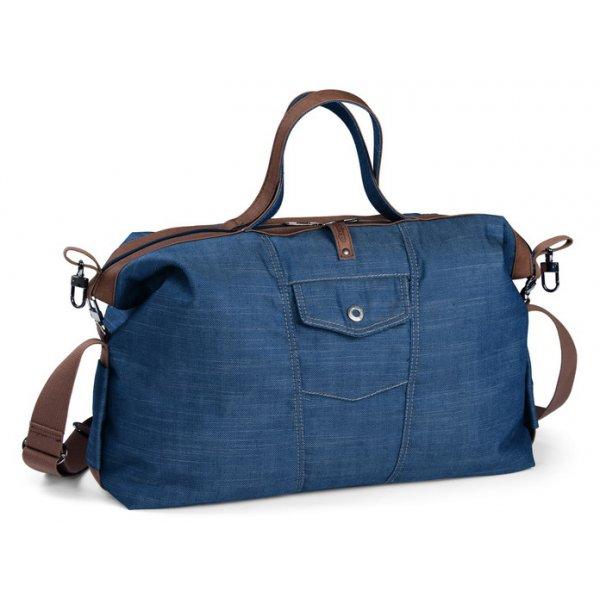 Peg perego τσάντα αλλαξιέρα bag borsa urban denim