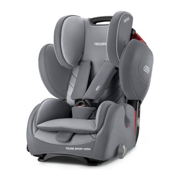 Recaro Young Sport Hero Aluminium Grey  Παιδικό κάθισμα αυτοκινήτου 9-36 kg
