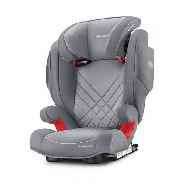 Recaro Monza Nova 2 seatfix παιδικό κάθισμα αυτοκινήτου Aluminium grey