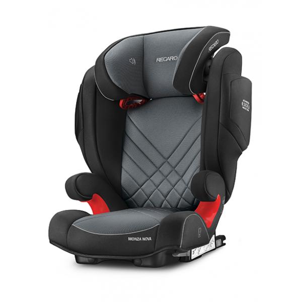 Recaro Monza Nova 2 seatfix παιδικό κάθισμα αυτοκινήτου Carbon black 15-36 kg