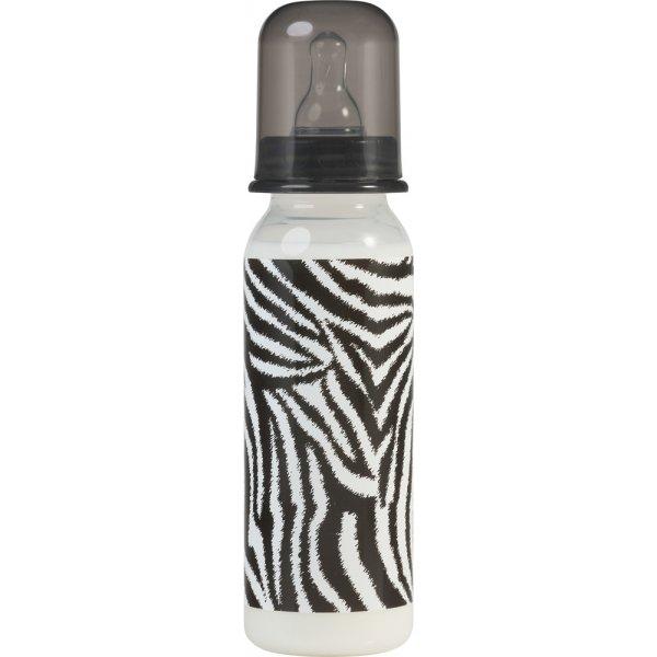 Rock star Baby zebra 250 ml γυάλινο βρεφικό μπιμπερό Silicone Nipple 2pcs