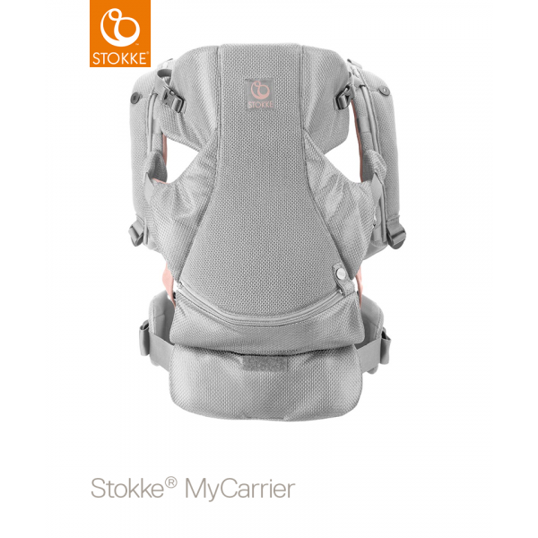 Stokke MyCarrier Front and Back Carrier Pink Mesh