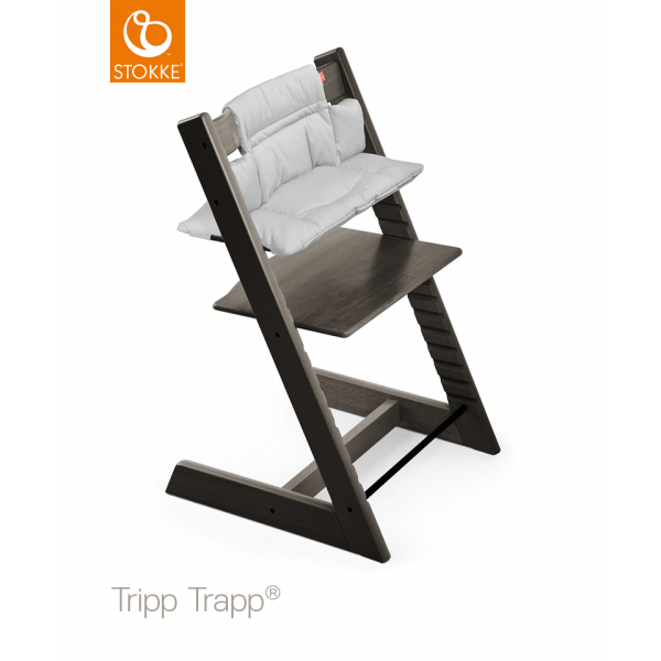 Stokke Tripp Trapp βρεφικό μαξιλάρι Grey Melange (coated)