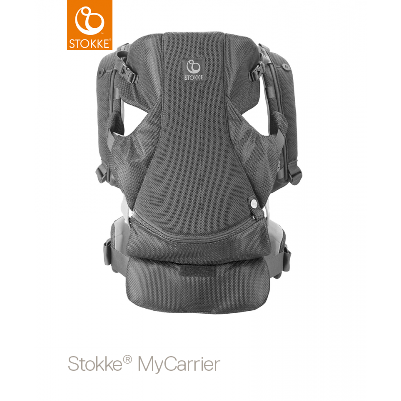 Stokke MyCarrie  Front and Back Carrier Grey Mesh
