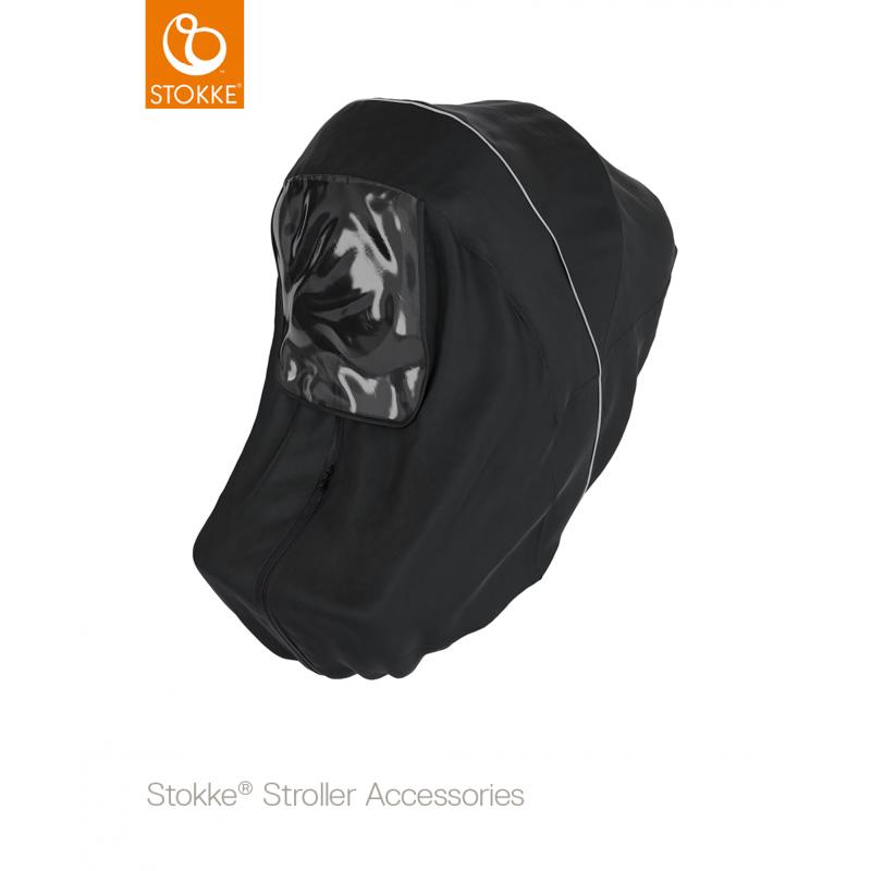cdf716a029c Stokke® Stroller Rain Cover κάλυμμα βροχής μαύρο