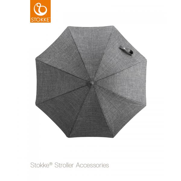 Stokke  Stroller Black Parasol ομπρέλα Black Melange