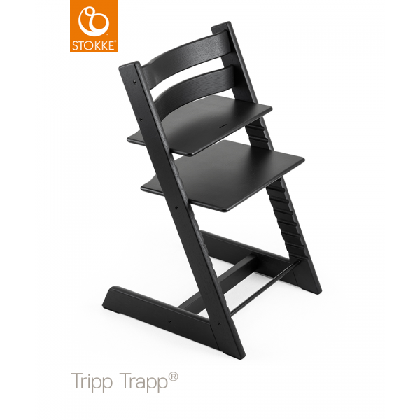 Stokke Tripp Trapp Oak κάθισμα φαγητού black