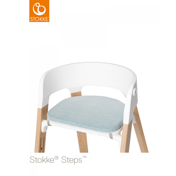 Stokke Steps Chair Cushion μαξιλάρι ενηλίκου Jade Twill