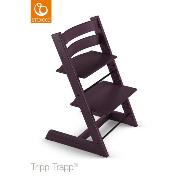 Stokke tripp trapp  Plum purple κάθισμα φαγητού