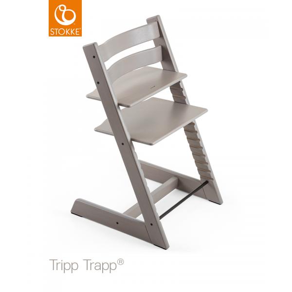 Stokke Tripp Trapp Oak κάθισμα φαγητού Greywash