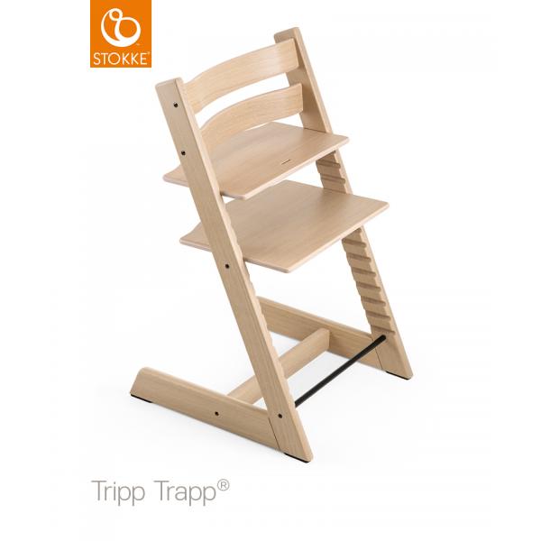 Stokke Tripp Trapp Oak κάθισμα φαγητού white