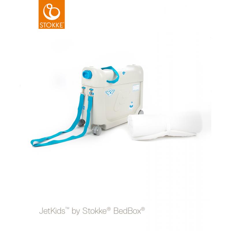 Stokke JetKids™  blue βαλίτσα κρεβατάκι ταξιδίου