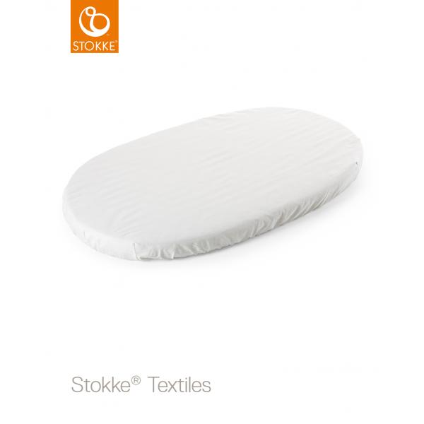 Stokke sleepi fitted sheet κατωσέντονο White 120 cm
