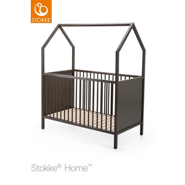 Stokke home παιδικό κρεβάτι Hazy Grey