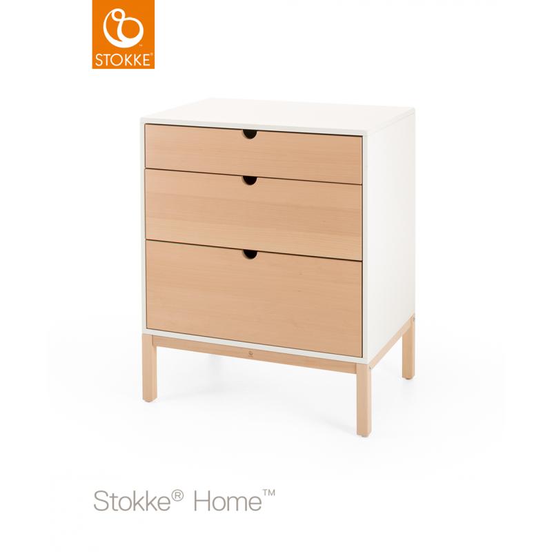 Stokke Home Dresser συρταριέρα αλλαξιέρα Natural