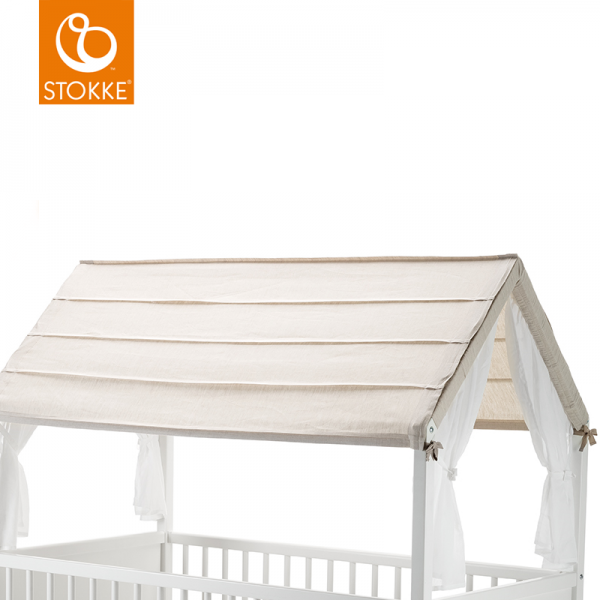 Stokke home bed roof οροφή κρεβατιού natural
