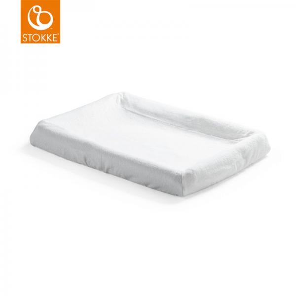 Stokke Home προστατευτικό κάλυμμα στρώματος αλλαξιέρας White 2 τεμ