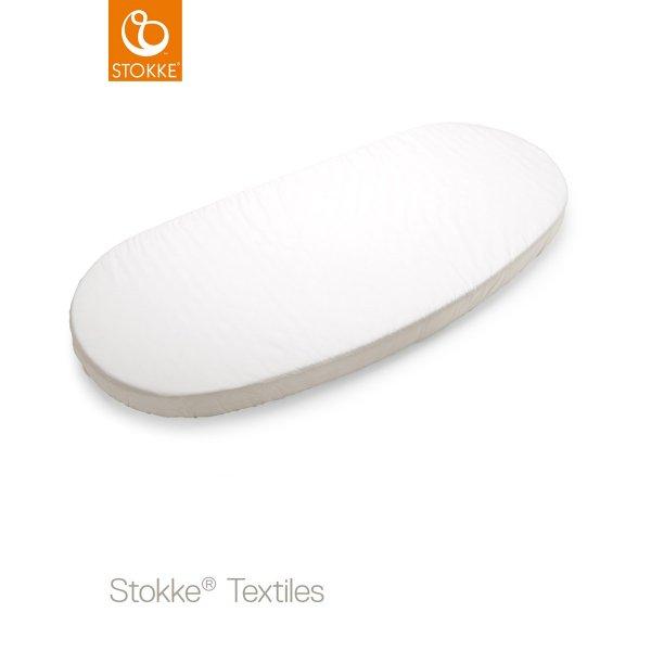 Stokke sleepi junior fitted sheet 165cm κατωσέντονο  White