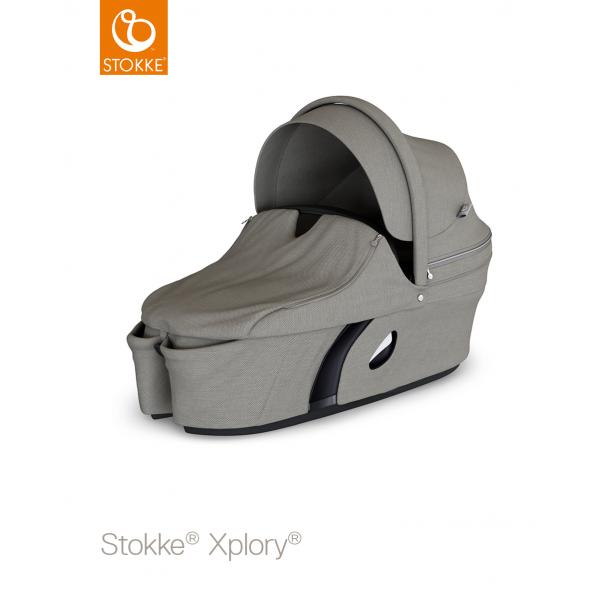Stokke Xplory Πορτ μπεμπέ V6 Brushed Grey