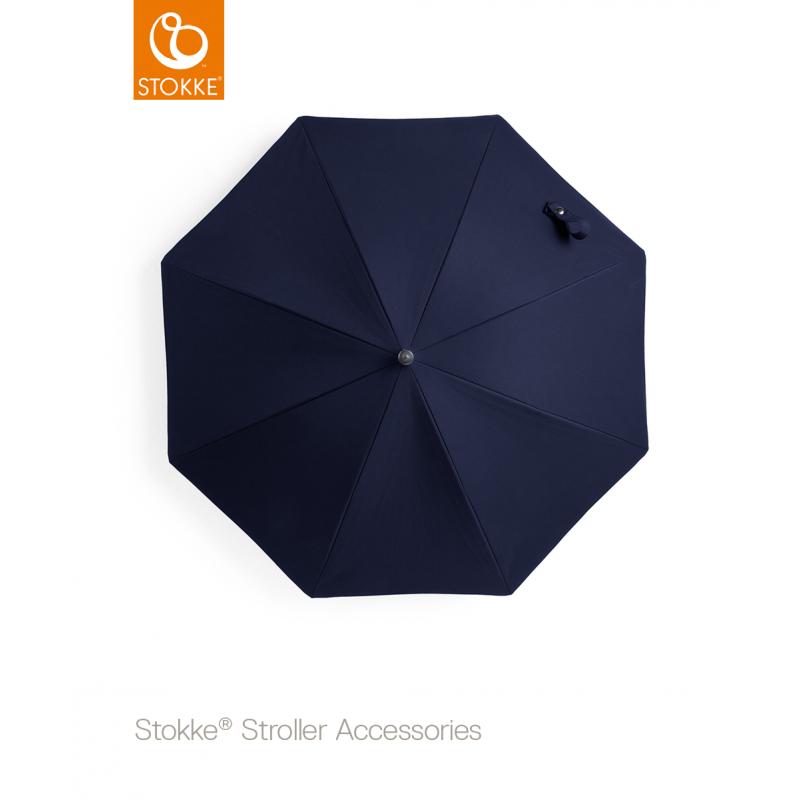 Stokke  Stroller Black Parasol ομπρέλα Deep Blue