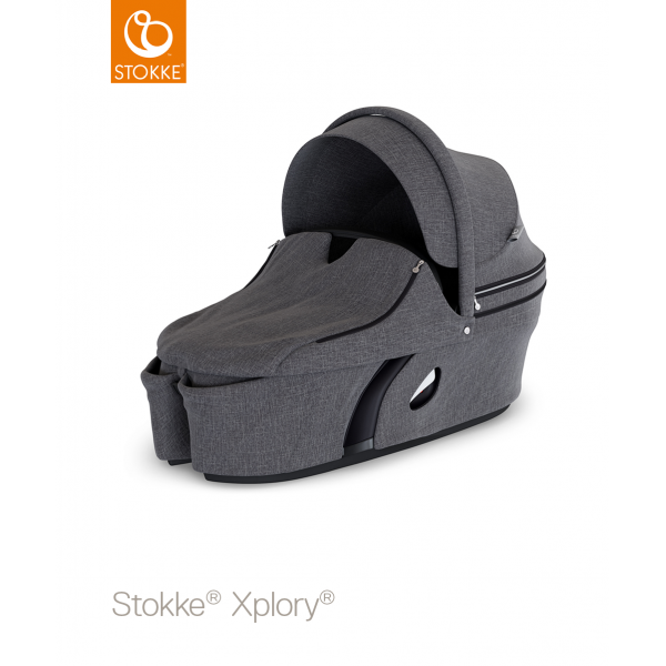 Stokke Xplory Πορτ μπεμπέ V6 Black Melange