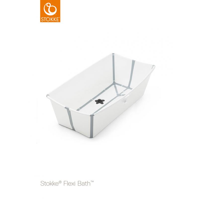 Stokke flexi bath X-Large μπανάκι white 82x41 cm 0-6 years