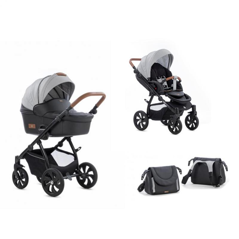 d6c21b32e05 Tutis Aero παιδικό καρότσι 3 σε 1 eco leather Buran
