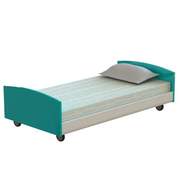 AlfaSet  Παιδικό κρεβάτι τροχηλατό Μονό L=195