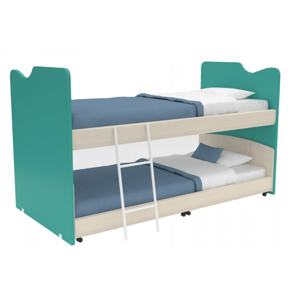 AlfaSet κουκέτα χαμιλή  Joy 2 κρεβάτια