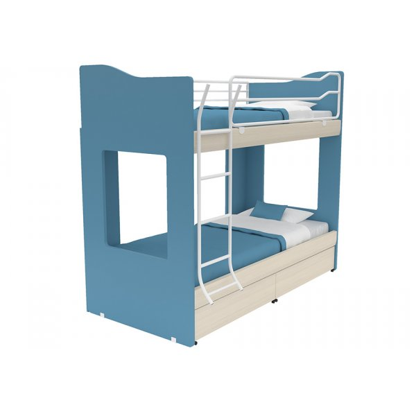 AlfaSet κουκέτα  Tetra 2 κρεβάτια