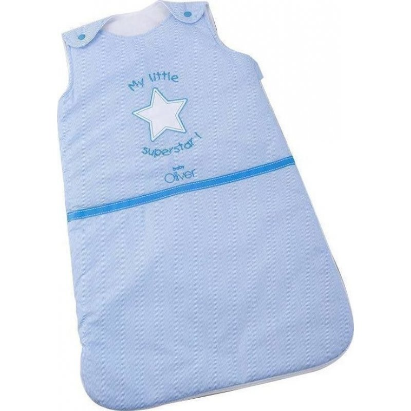 -20% Baby oliver υπνόσακος 2.5 tog 70εκ 0-6 μηνών My little superstar σιελ 6a29f0b8a62