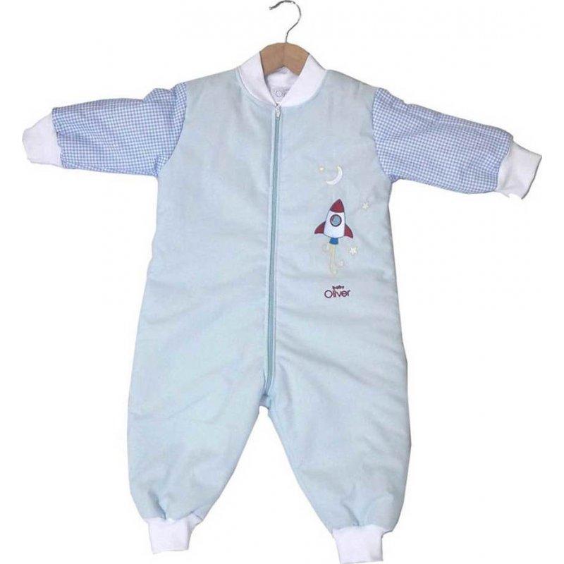 49dbc4f9ac7f Baby Oliver Υπνοφόρμα Νο1 Κέντημα Πύραυλος