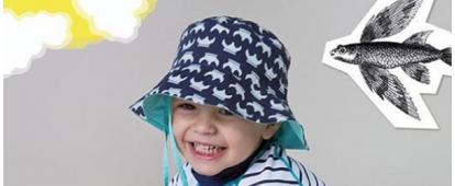 Καπέλα για ήλιο και θάλασσα
