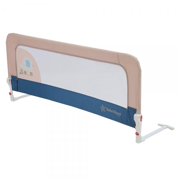 Bebestar προστατευτική μπάρα κρεβατιού μπλε