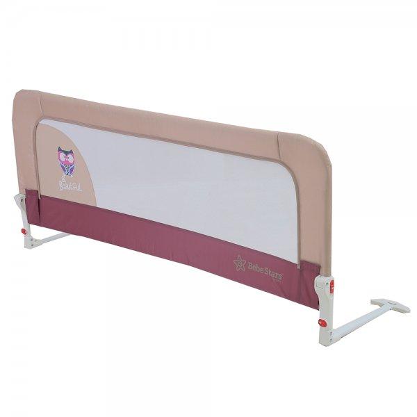 Bebestar προστατευτική μπάρα κρεβατιού μωβ
