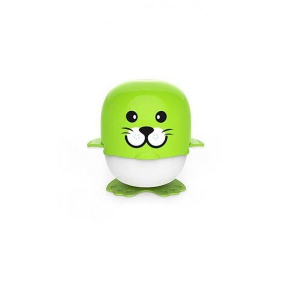 Berz baby Cartoon Grinder πράσινη φώκια σετ παρασκευής φαγητού 6 σε 1