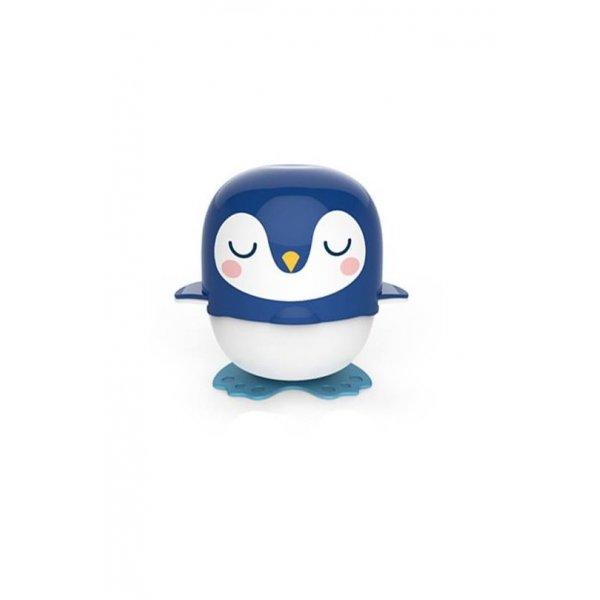 Berz baby Cartoon Grinder Μπλέ πιγκουίνος Σετ παρασκευής φαγητού 6 σε 1