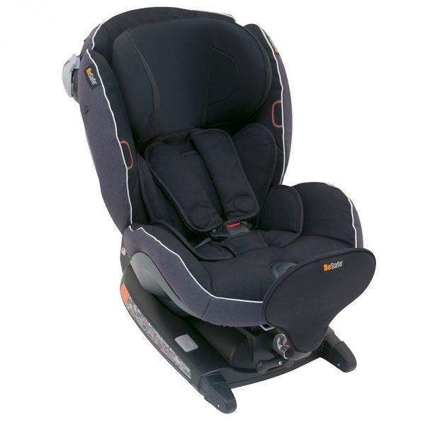 BeSafe παιδικό κάθισμα iZi Combi X4 ISOfix Midnight Black Melange