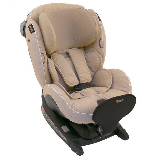 BeSafe παιδικό κάθισμα iZi Combi X4 ISOfix Ivory Melange
