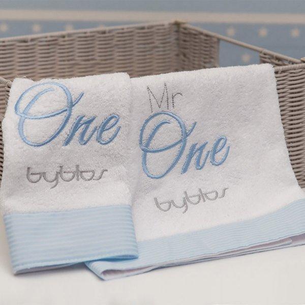 Byblos Βρεφικές Πετσέτες 2τμχ  One Blue