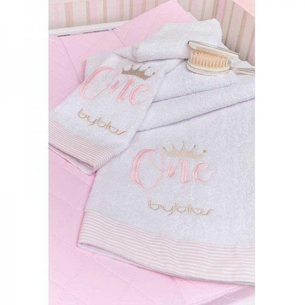 Byblos Βρεφικές Πετσέτες 2τμχ One pink