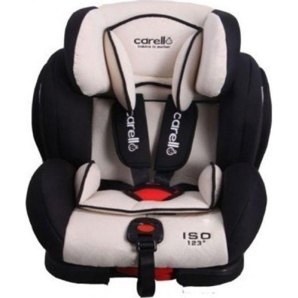 Carello κάθισμα αυτοκινήτου Beige black cocoon 123 +