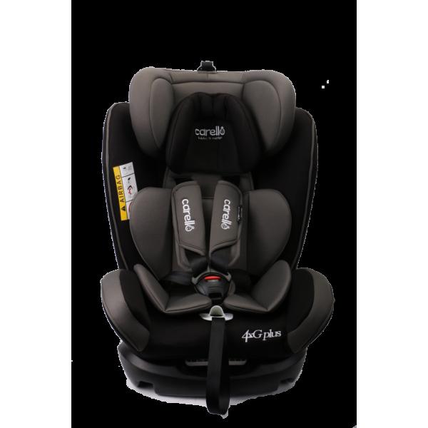 Carello κάθισμα αυτοκινήτου 4G Plus fix 0-36kg Black grey