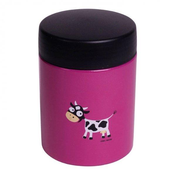 Carl Oscar θερμός φαγητού 350ml cow μωβ